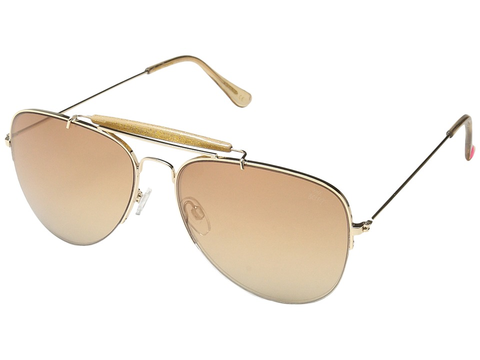 Betsey Johnson - BJ462124 (Gold) Fashion Sunglasses
