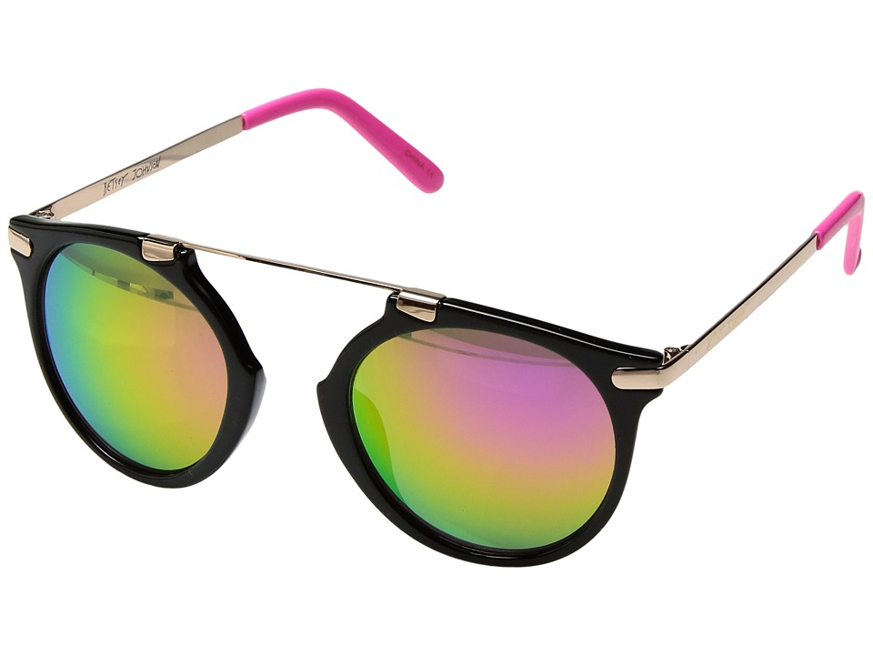 Betsey Johnson - BJ875132 (Black/Pink) Fashion Sunglasses