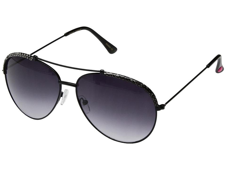 Betsey Johnson - BJ462124 (Black) Fashion Sunglasses