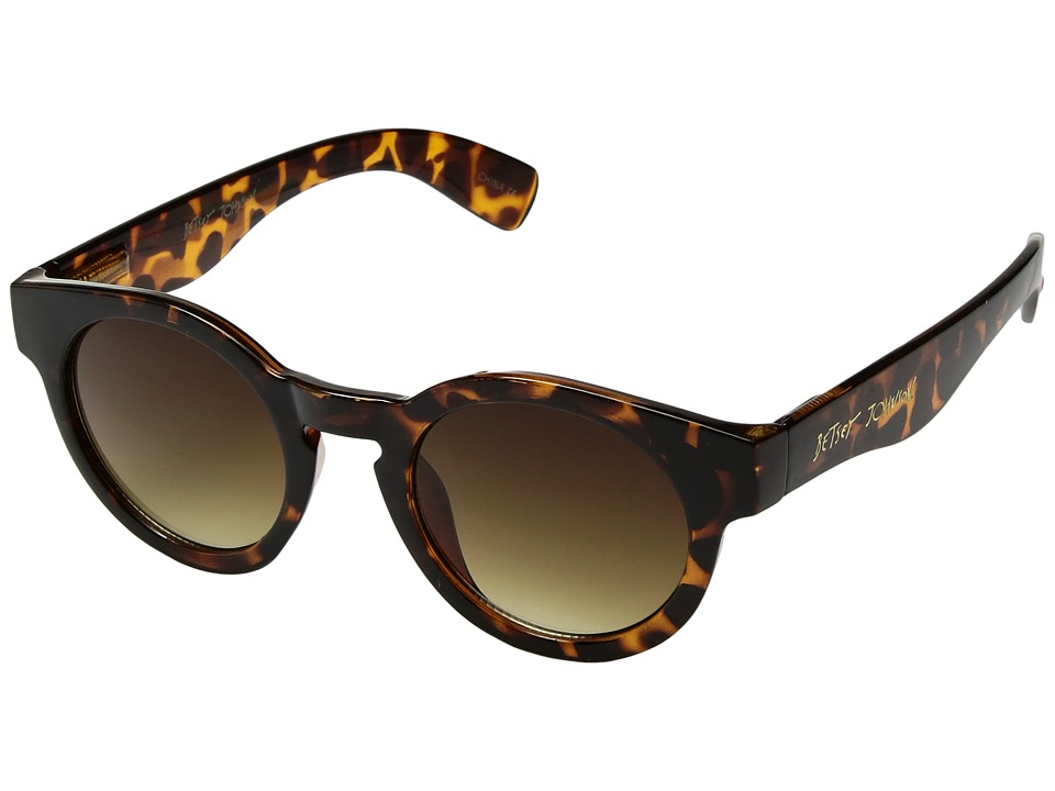Betsey Johnson - BJ865128 (Tortoise) Fashion Sunglasses