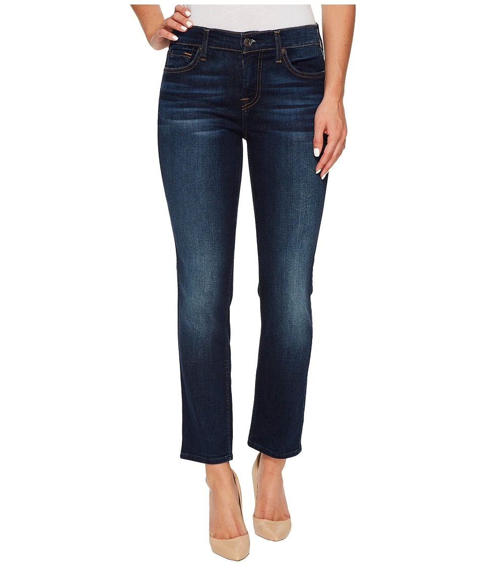 7 For All Mankind - Roxanne Ankle in Dark Riverside Drive (Dark Riverside Drive) Women's Jeans