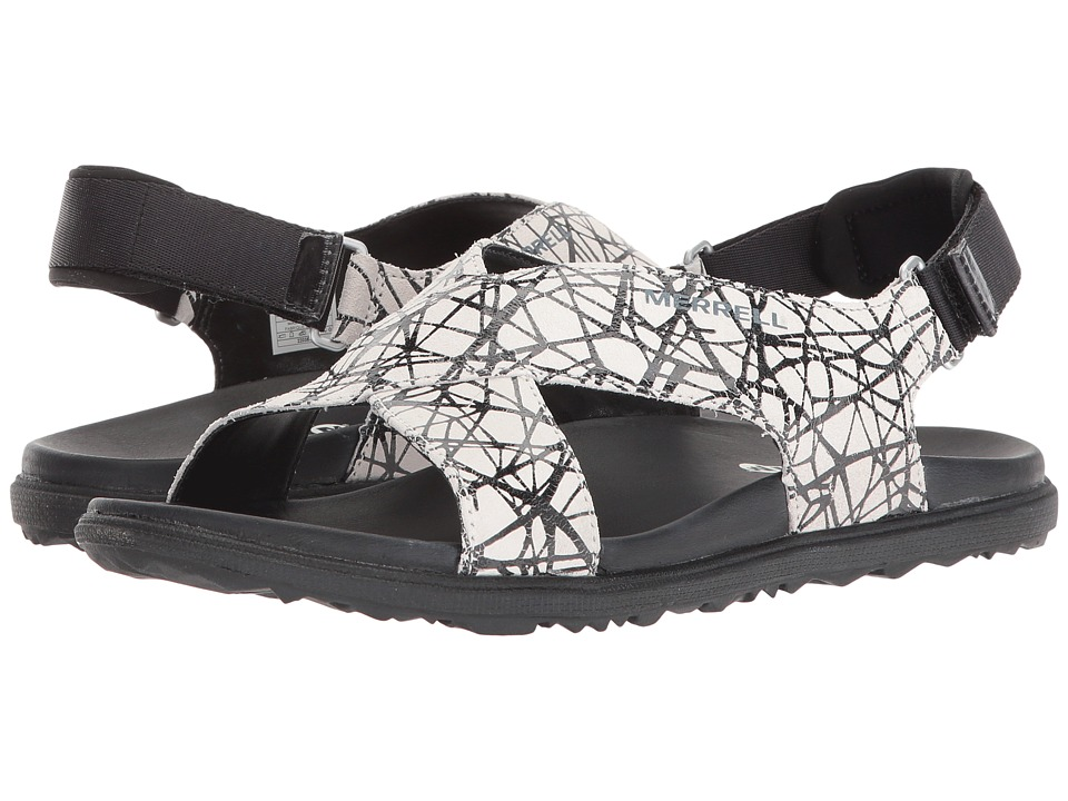 Merrell Around Town Sunvue Strap (Black Texture) Women