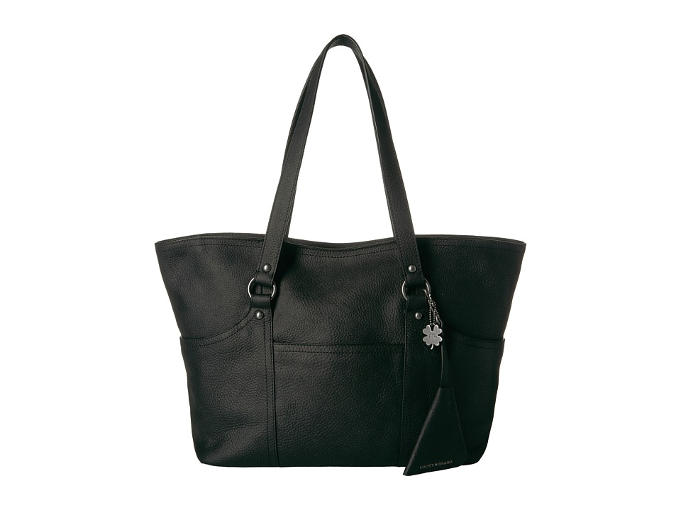 Lucky Brand - Corey Medium Tote (Black) Tote Handbags