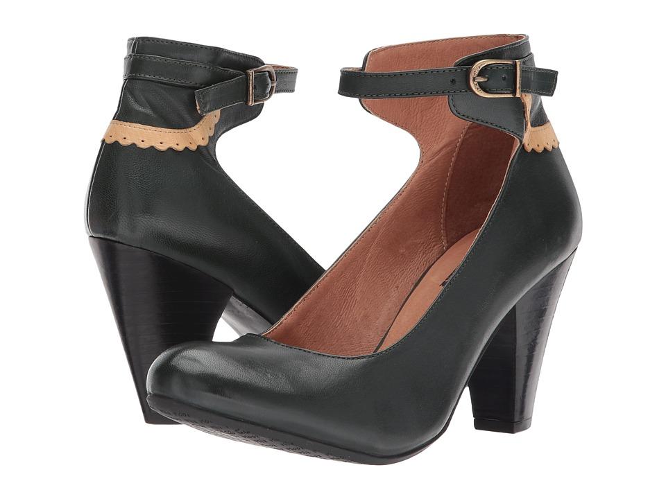 Miz Mooz Cabriole (Teal) High Heels