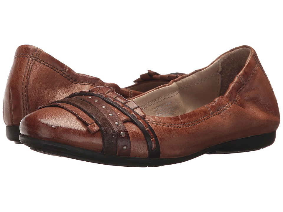 Miz Mooz - Clio (Brandy) Women's Flat Shoes