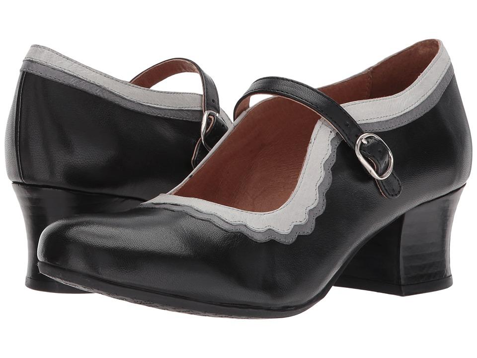 Miz Mooz Frankie (Black) High Heels