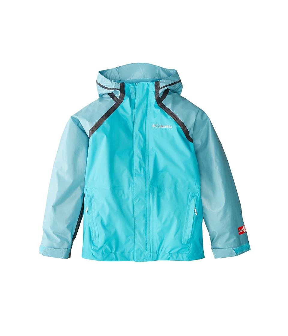 Columbia Kids Outdry Hybrid Jacket (Little Kids/Big Kids) (Geyser) Girl