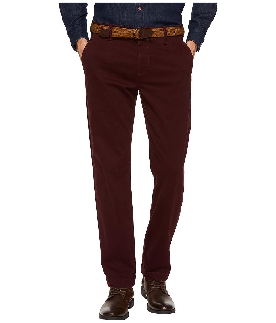 U.S. POLO ASSN. - Slim Straight Stretch Chino Pants (Midnight Wine) Men's Casual Pants