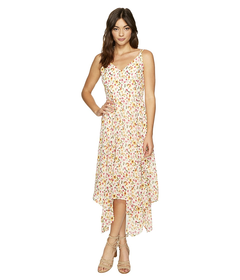 ROMEO & JULIET COUTURE - Floral Printed Empire Waist Maxi Dress (Multi) Women's Dress