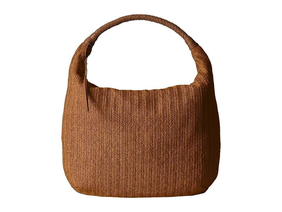 Lucky Brand - Fig Hobo (Caramel) Hobo Handbags