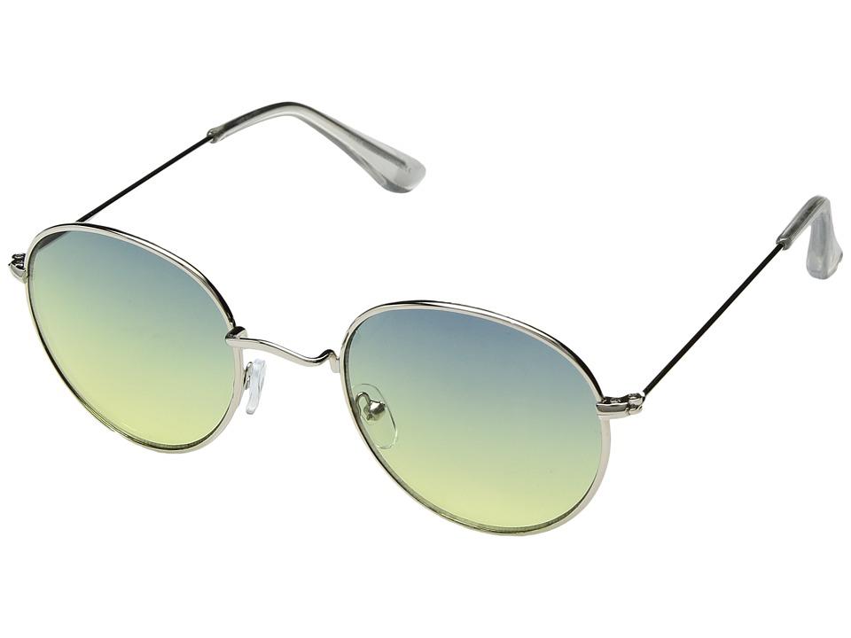 Steve Madden - SM485103 (Blue/Green) Fashion Sunglasses