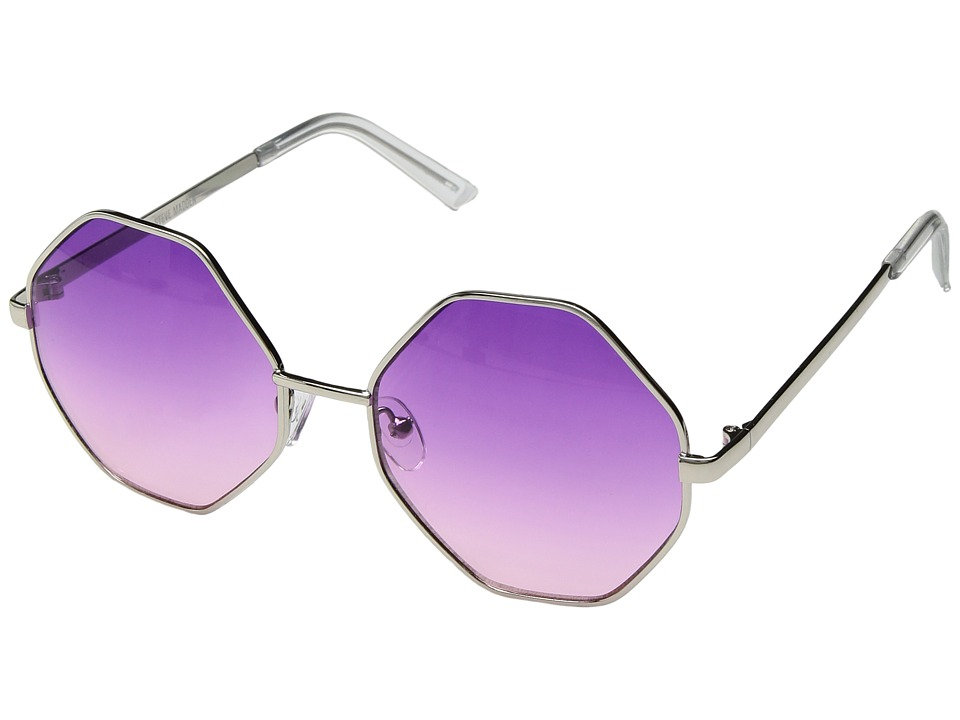 Steve Madden - SM485104 (Purple/Pink) Fashion Sunglasses