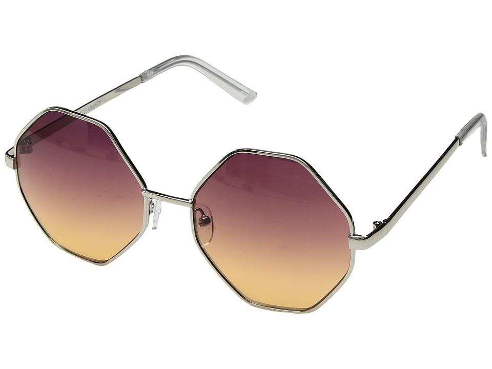 Steve Madden - SM485104 (Purple/Yellow) Fashion Sunglasses