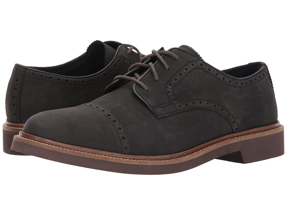 Cole Haan - Carver Cap Ox II (Midnight Grey) Men's Lace up casual Shoes