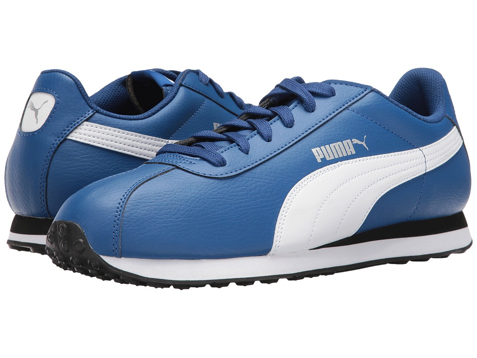 PUMA - Turin (True Blue/Puma White) Men's Shoes