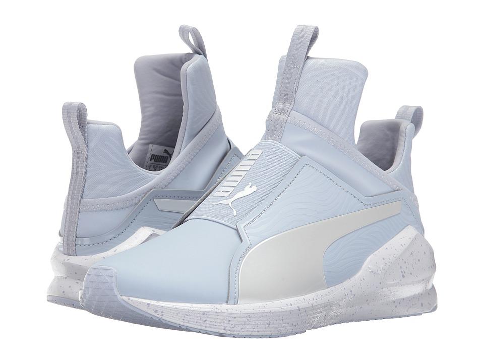 PUMA - Fierce Bleached (Halogen Blue/Whisper White) Women's Shoes