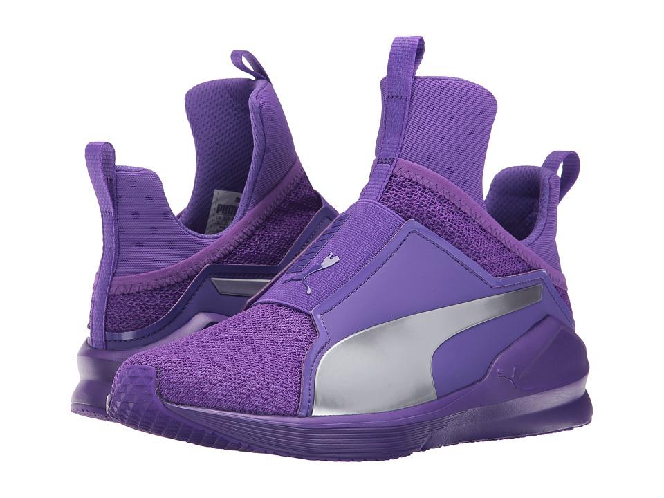 PUMA - Fierce Culture Surf (Electric Purple/Puma Silver) Women's Lace up casual Shoes