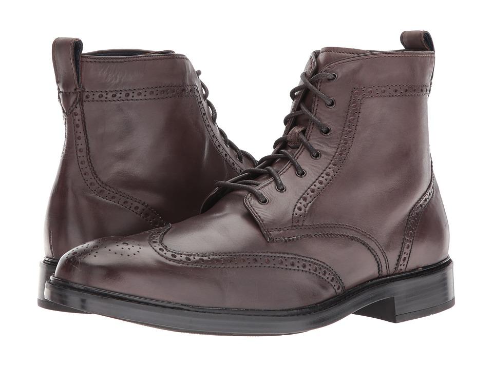 Cole Haan - Kennedy Wingtip Boot II (Black) Men's Shoes
