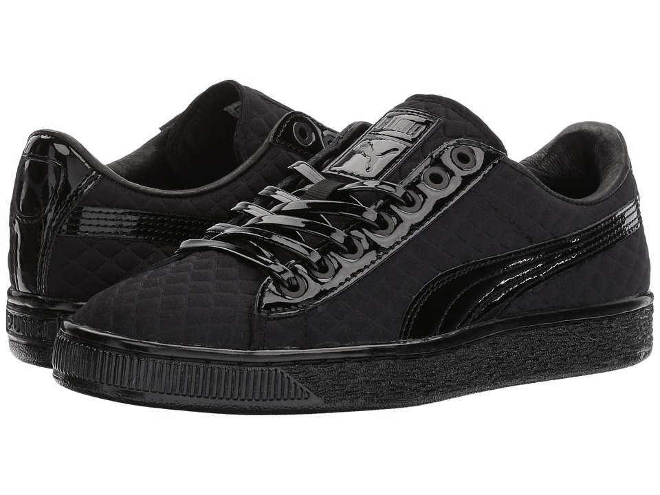 Puma Kids Basketx Meek Bike Life Jr (Big Kid) (Black) Kids Shoes