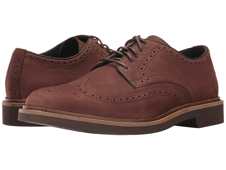 Cole Haan Monroe Wing Ox II (Mahogany) Men