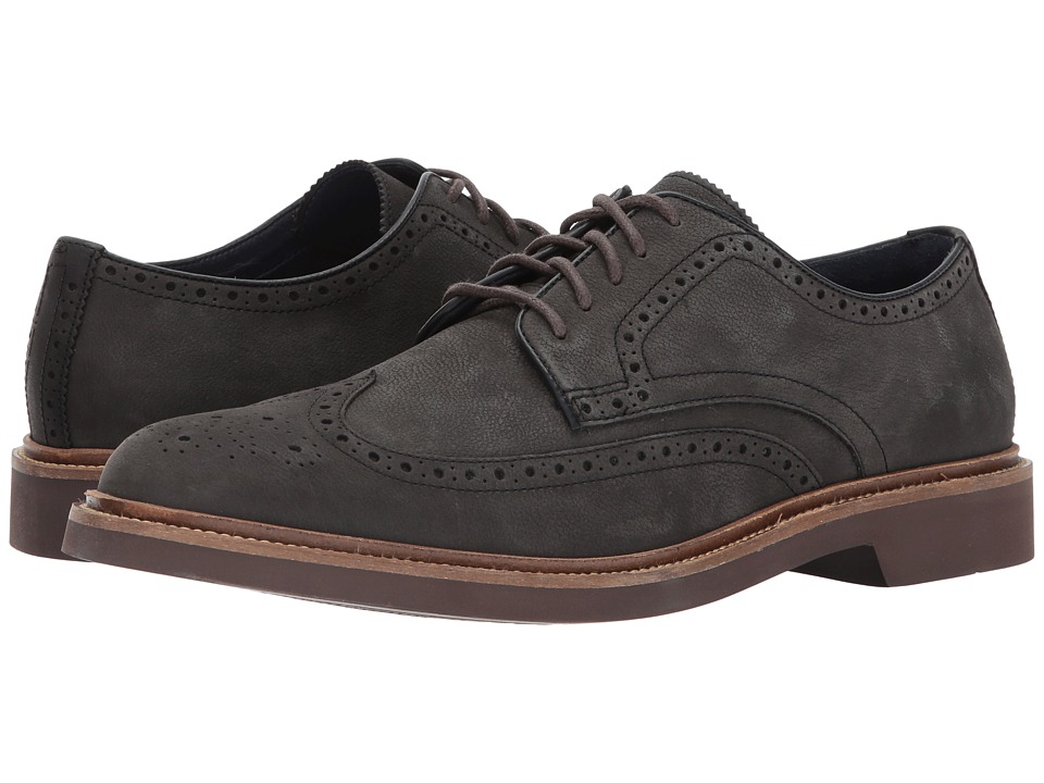 Cole Haan - Monroe Wing Ox II (Midnight Grey) Men's Lace up casual Shoes
