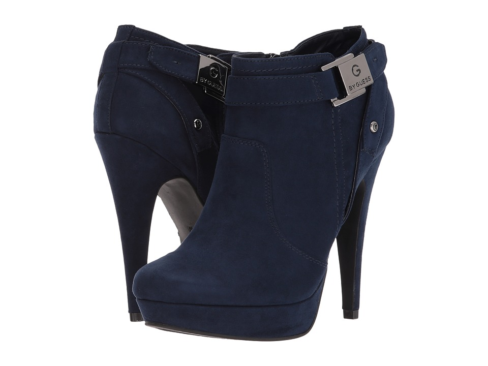 G by GUESS - Ding (Navy Fabric) Women's Shoes