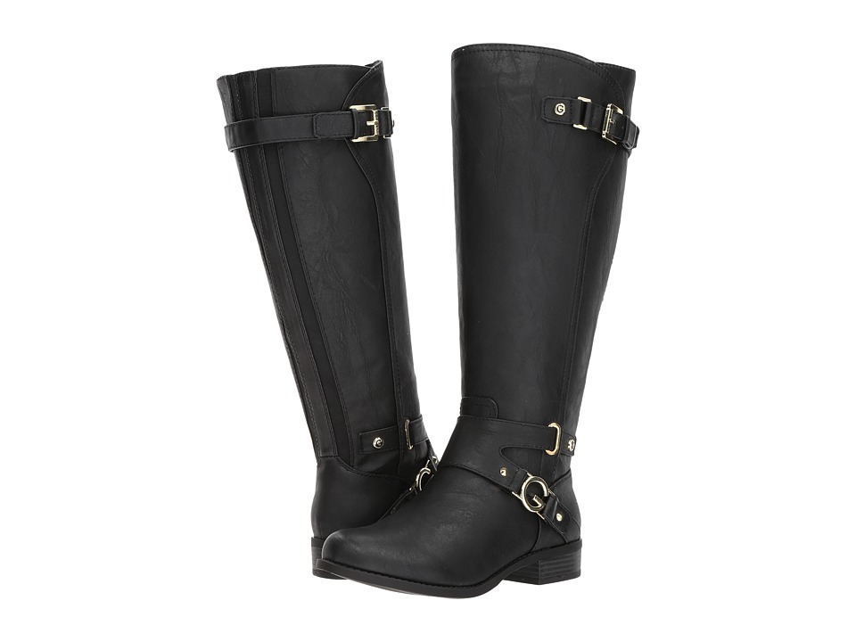 G by GUESS - Hurdle Wide Calf (Black) Women's Boots