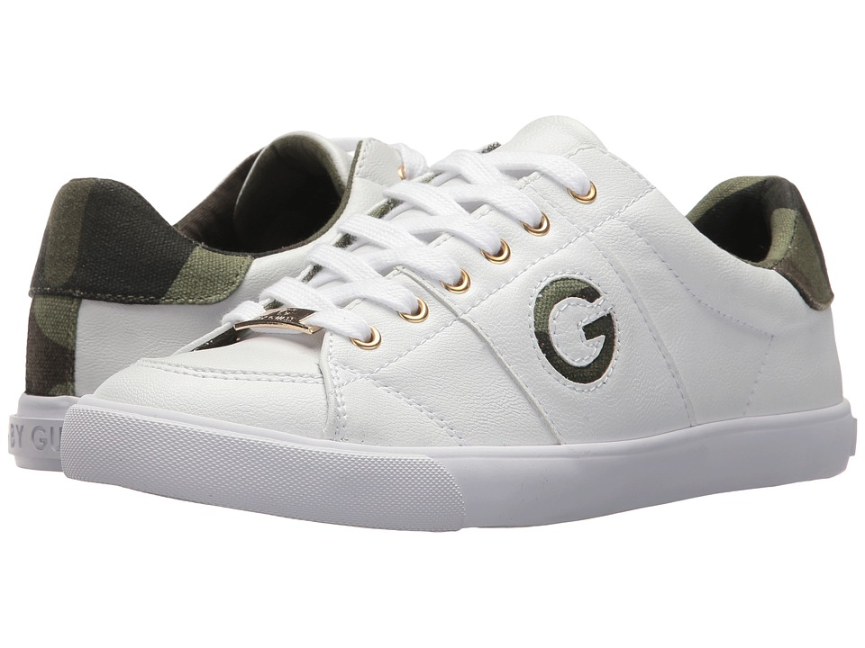 G by GUESS Mikle2 (White/Camo) Women