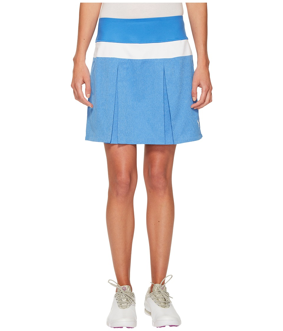 PUMA Golf PWRSHAPE Pleated Skirt (Nebulas Blue) Women