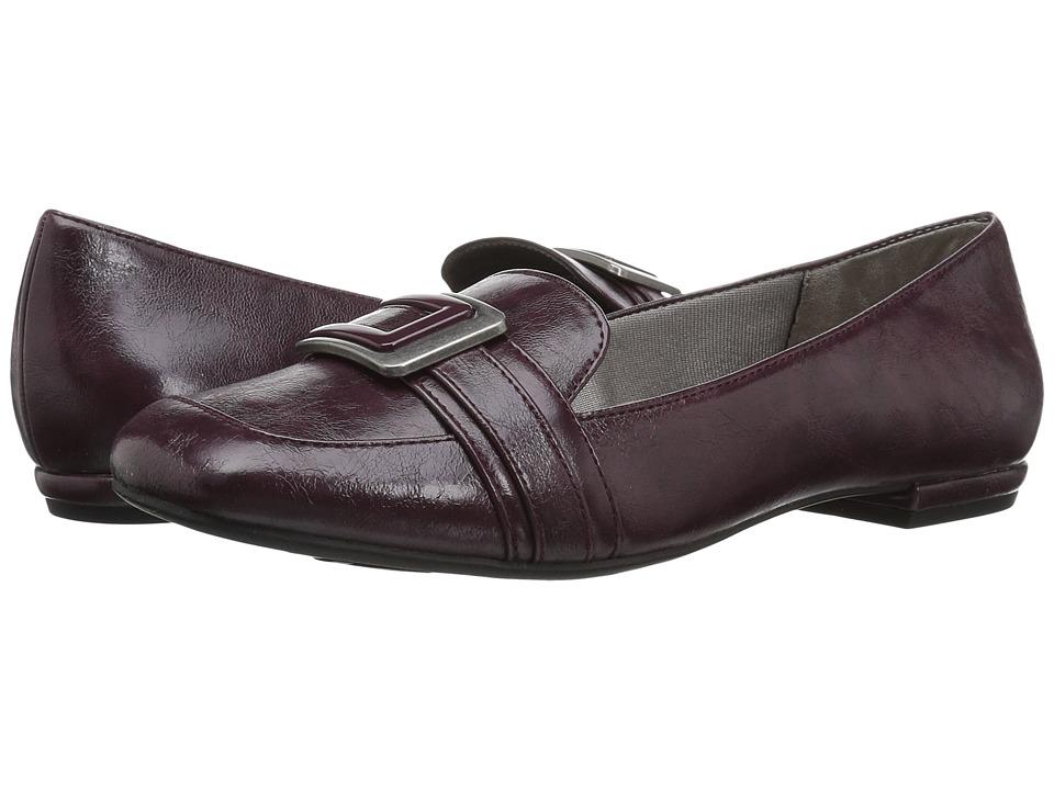 LifeStride - Baffle (Dark Red) Women's Shoes