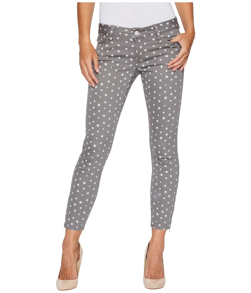 U.S. POLO ASSN. - Skinny Ankle Brit Stretch Denim Jeans in Grey/Polka Dot (Grey/Polka Dot) Women's Jeans