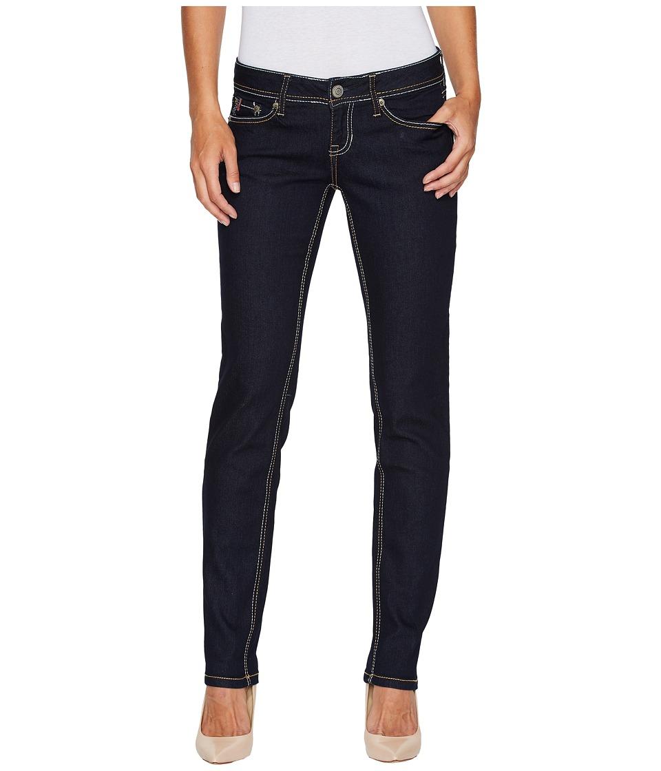 U.S. POLO ASSN. - Stretch Denim Sofia Curvy Fit Skinny Jeans in Sofia/True Rinse (Sofia/True Rinse) Women's Jeans