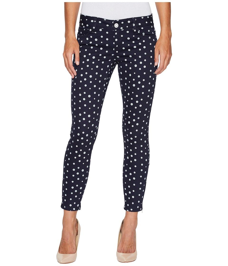 U.S. POLO ASSN. - Skinny Ankle Brit Stretch Denim Jeans in All Night/Polka Dot (All Night/Polka Dot) Women's Jeans