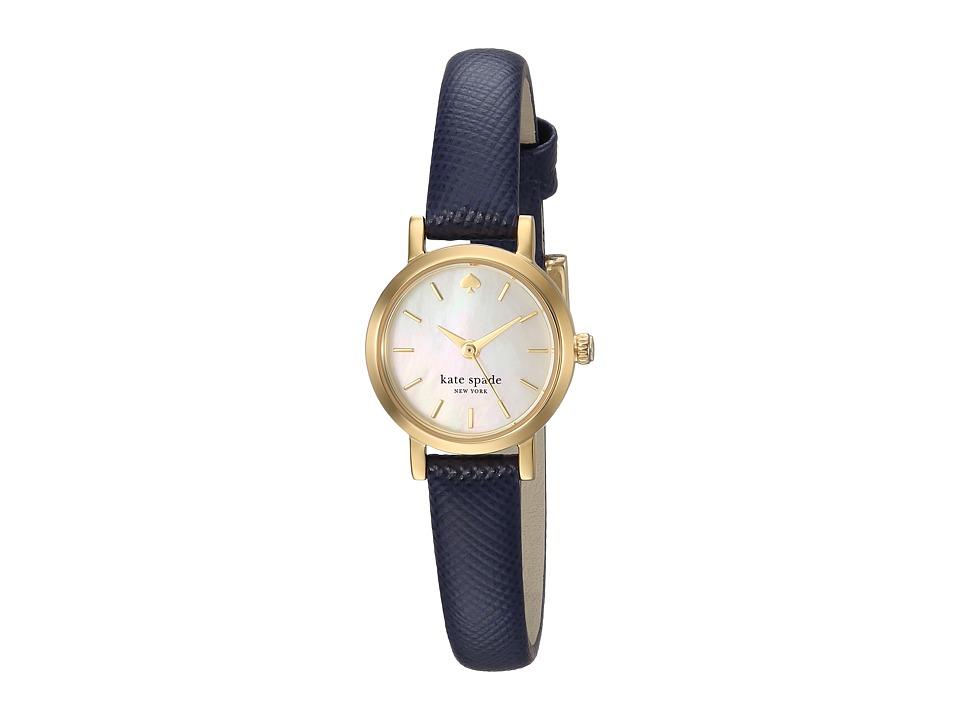 Kate Spade New York - Metro - 1YRU0456 (Black/Gold) Watches