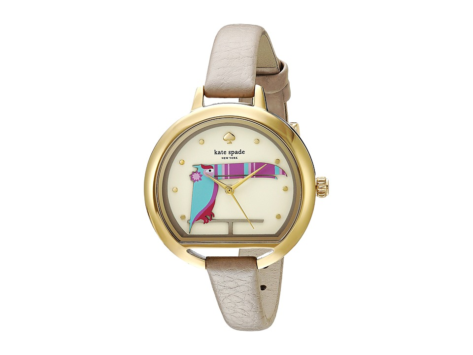 Kate Spade New York - Fish Bowl - KSW1328 (Taupe/Gold) Watches
