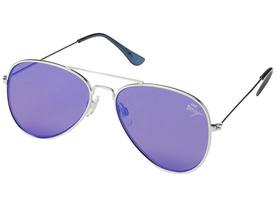 Betsey Johnson - BJ462134 (Blue) Fashion Sunglasses