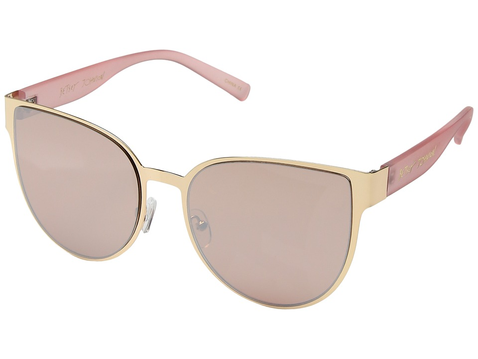 Betsey Johnson - BJ479181 (Gold/Pink) Fashion Sunglasses