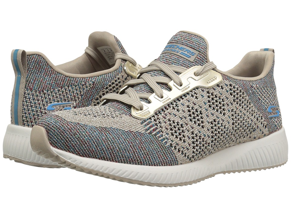 BOBS from SKECHERS Bobs Squad (Taupe/Multi) Women