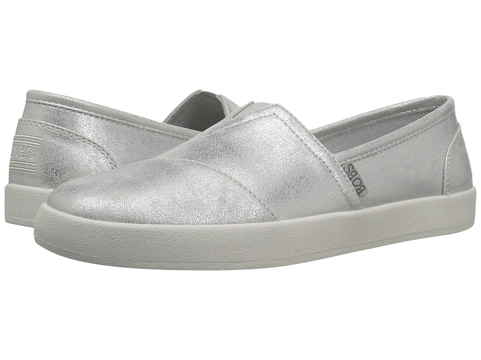 BOBS from SKECHERS Bobs B-Loved Liquid Sparkle (Silver) Women