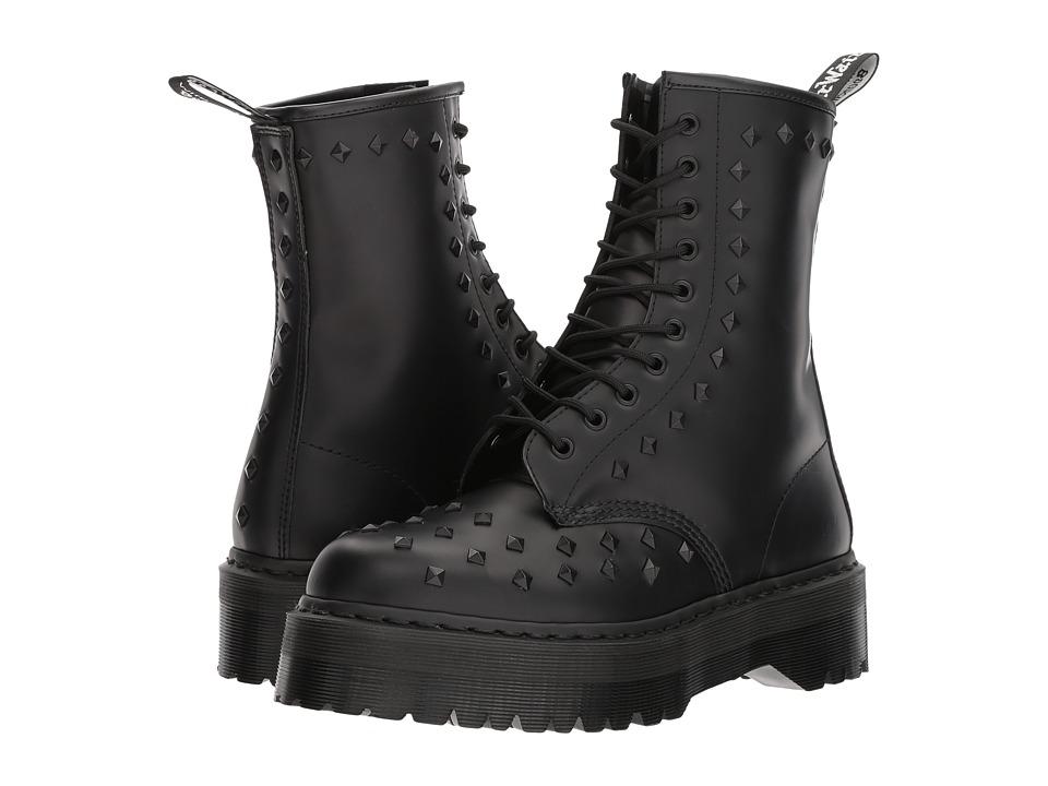 Dr. Martens 1490 Stud (Black Smooth) Boots