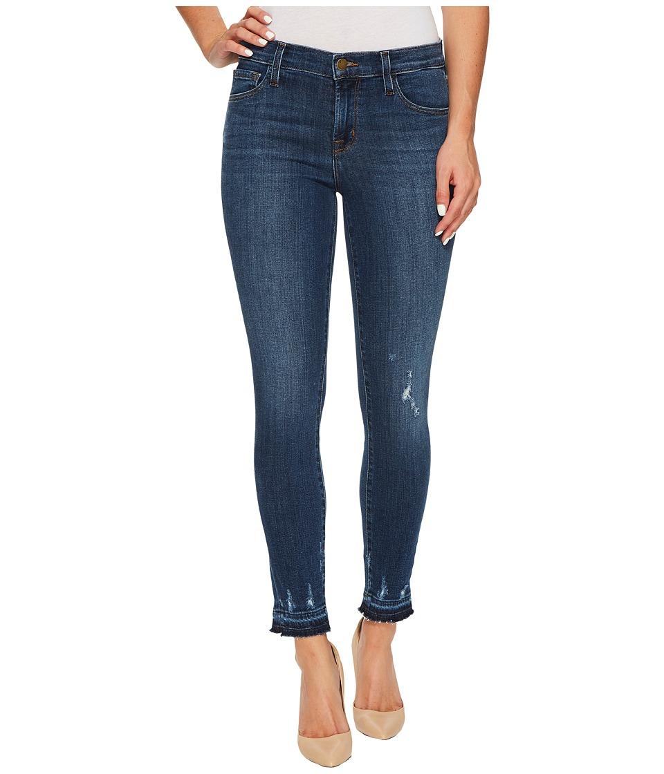 J Brand - 835 Mid-Rise Crop Skinny in Tonic (Tonic) Women's Jeans