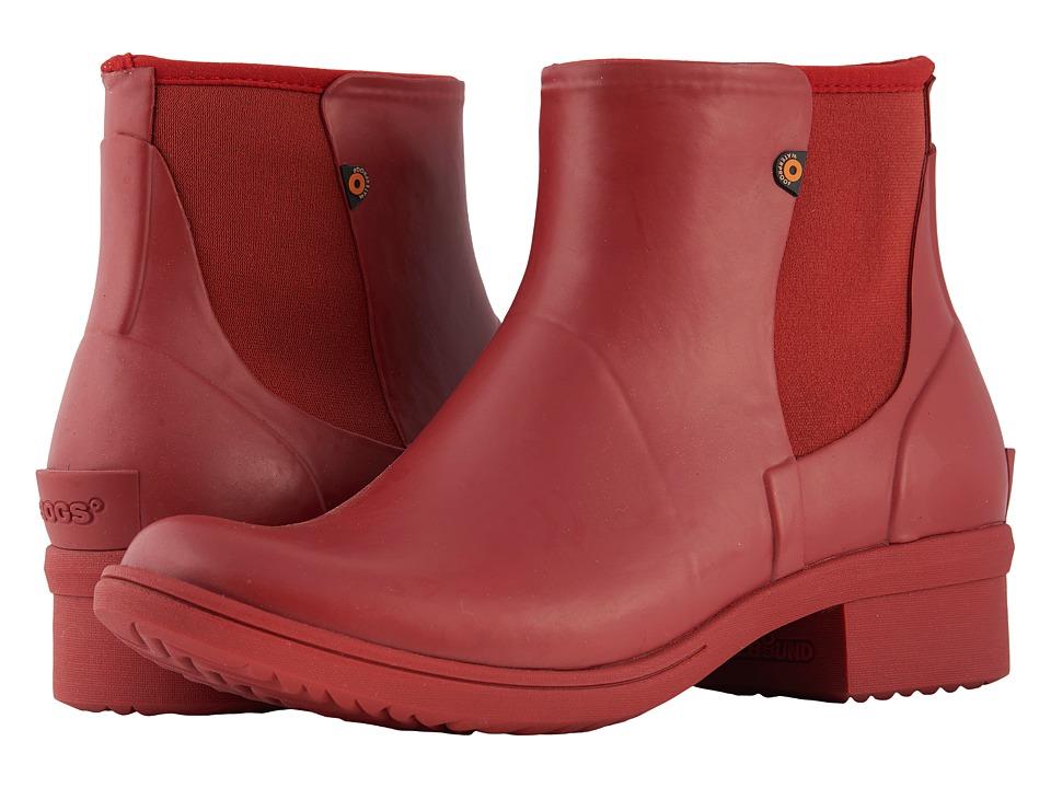 Bogs Auburn Slip-On Boot Rubber (Paprika) Women