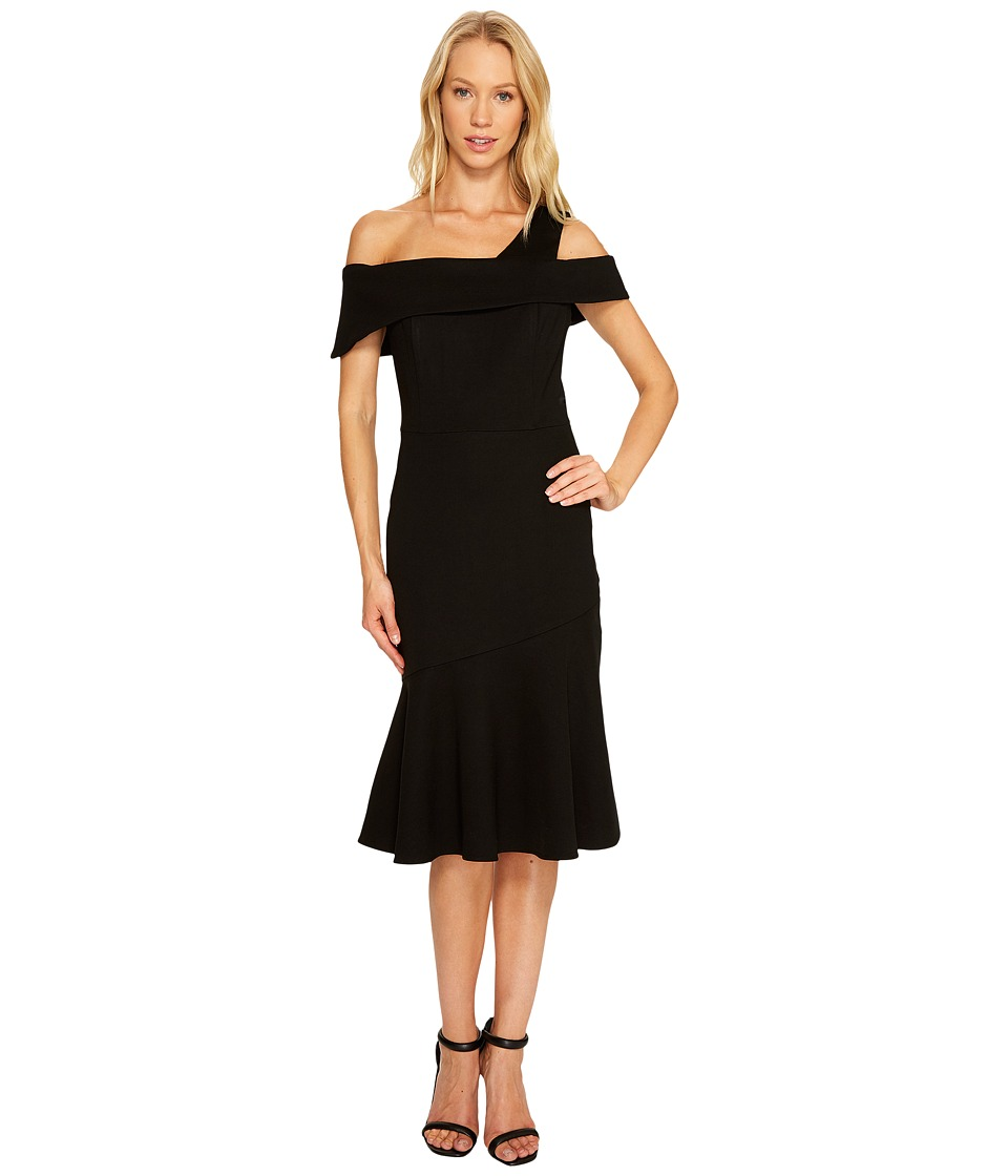 Adelyn Rae - Nicole Trumpet Dress (Black) Women's Dress