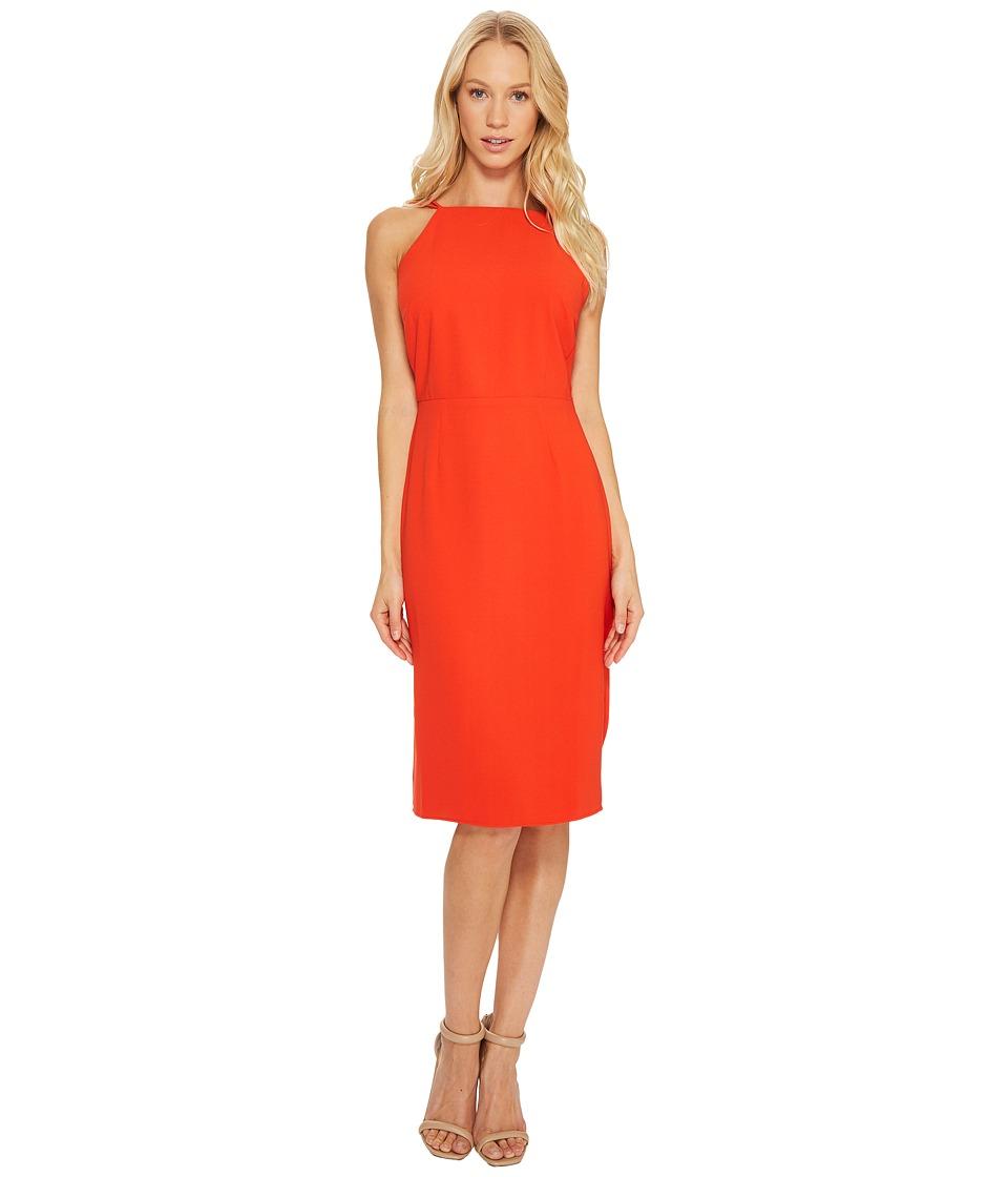 Adelyn Rae - Anne Sheath Dress (Poppy Orange) Women's Dress