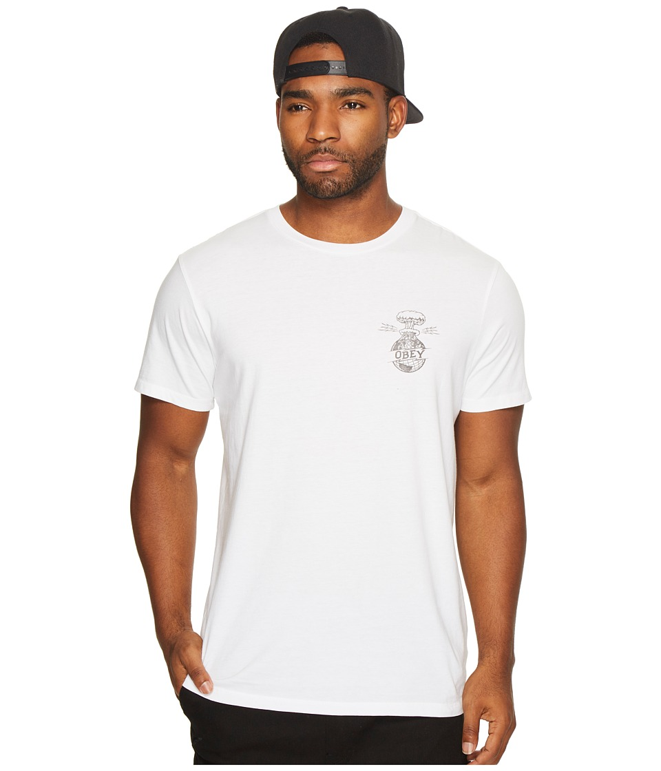 Obey - Armageddon Tee (White) Men's T Shirt