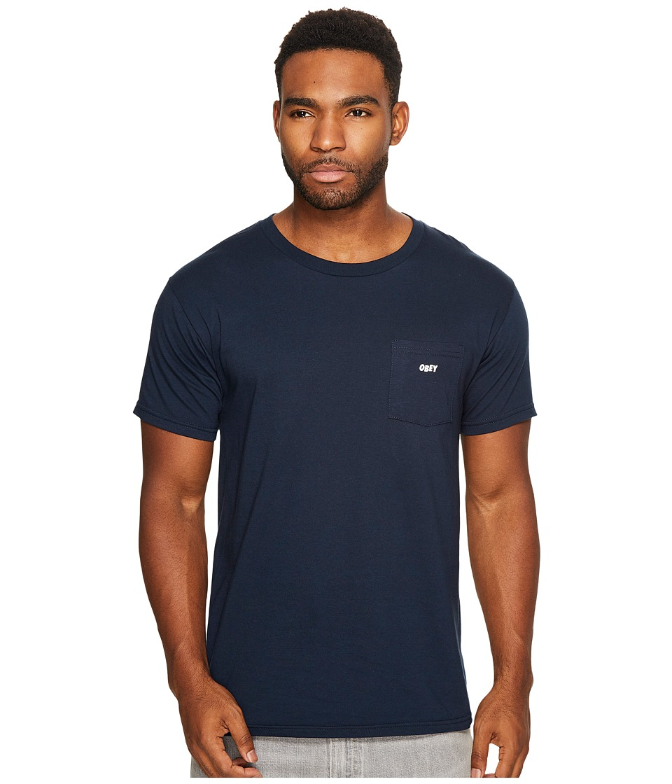 Obey - Obey Jumbled (Navy) Men's T Shirt
