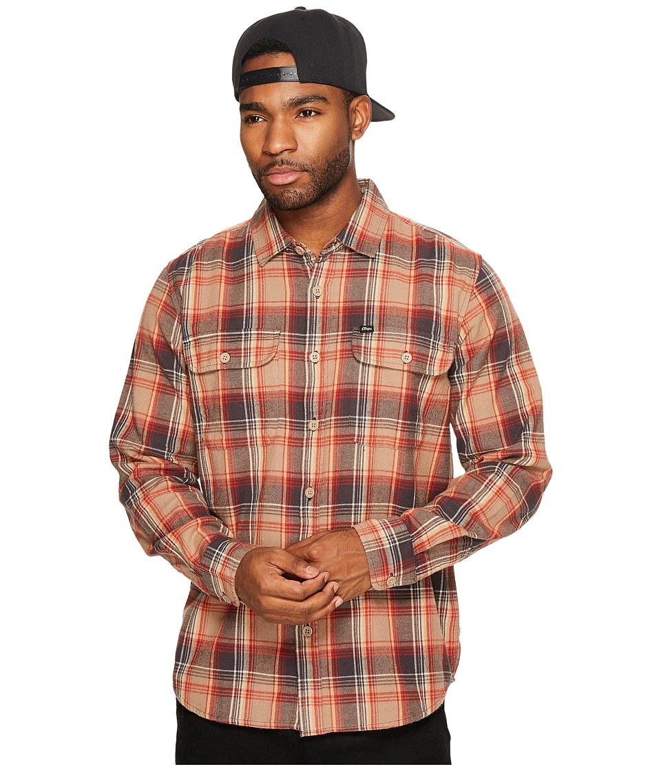 Obey - Marvyn Woven (Sand Multi) Men's Clothing