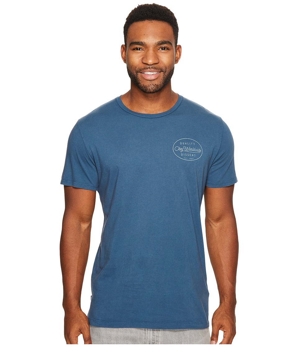 Obey - Specimen Tee (Insignia Blue) Men's T Shirt