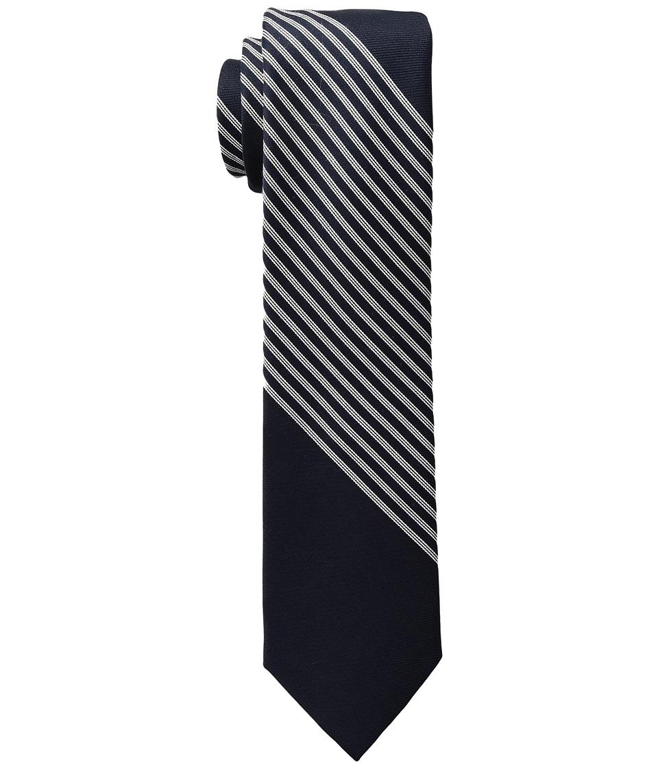 Calvin Klein - Jumbo Classic Stripe (White) Ties