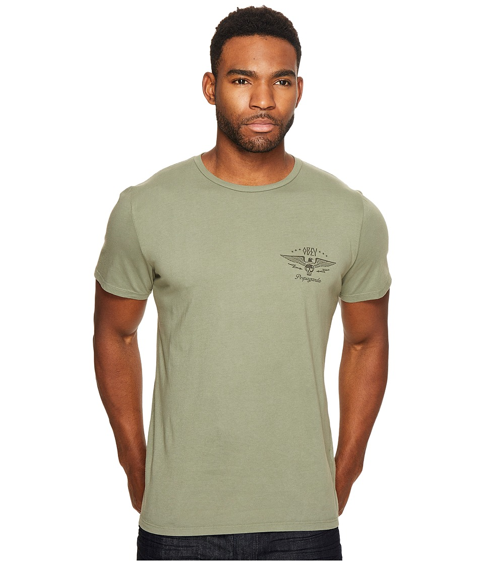 Obey - No Remorse No Regrets Tee (Light Army) Men's T Shirt